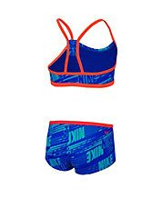 Two-Piece Racerback Swimsuit Set