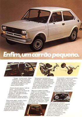 1977 Fiat 147 - Brasil
