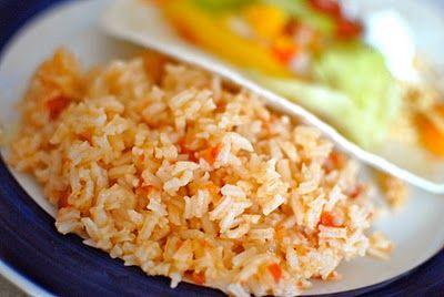Mexican Rice 1 cup uncooked rice  2 cups chicken broth  1 tablespoon butter  ½ cup salsa  1 teaspoon garlic salt  1 teaspoon taco seasoning