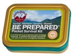 Outdoor :: Survival :: Be Prepared Pocket Survival Kit - Boy Scout Store - Boy Scout Collectibles & Memorabilia & Gifts