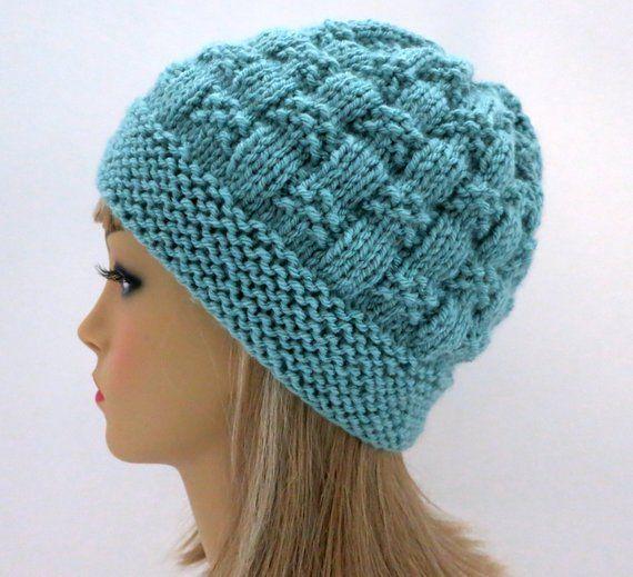 Sehr schönes Muster  Hat Knitting Pattern Beanie Tam Cloche | Etsy