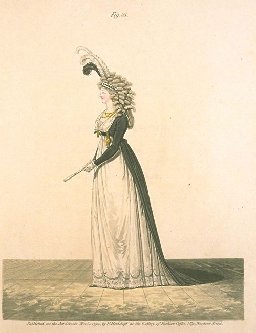 Gallery of Fashion, Figure 31. November 1794.