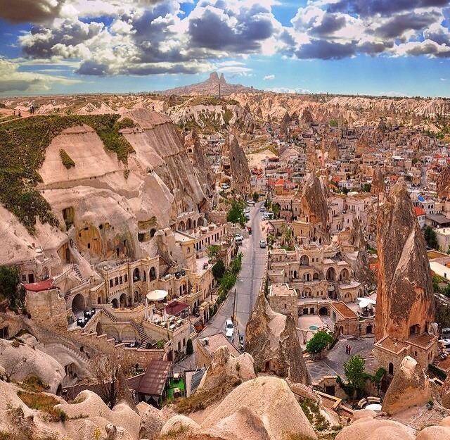 La inmensidad de #Capadocia