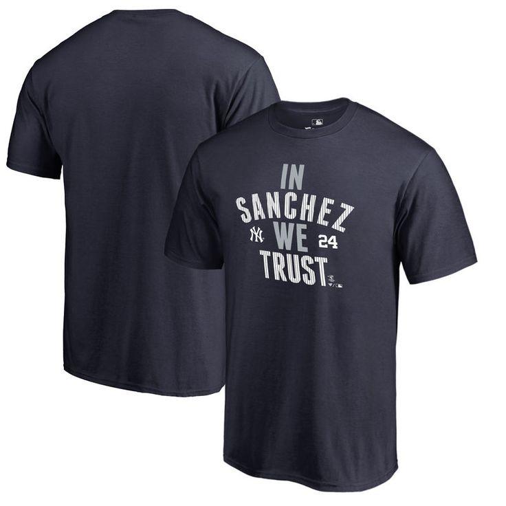 Gary Sanchez New York Yankees Fanatics Branded Player Hometown Collection Big & Tall T-Shirt - Navy