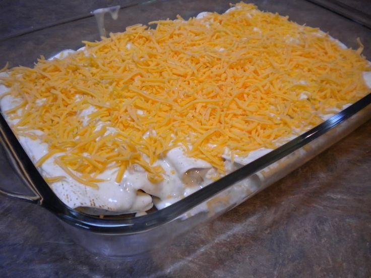 Sam's Club Meal Plan #2: Sour Cream Chicken Enchiladas