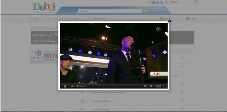 Nun ist es soweit...Jetzt kann man von allen Interpreten Videos ansehen und das auch kostenlos...Es kommt immer besser... Yeah Video Search
