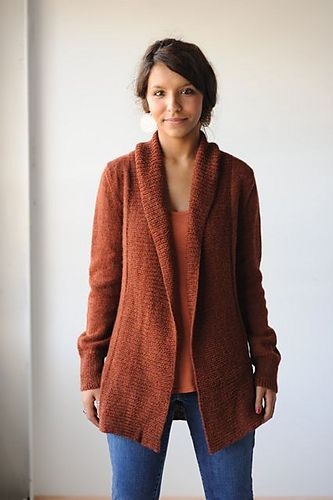 Ravelry: Autumnal Cardigan pattern by Hannah Fettig