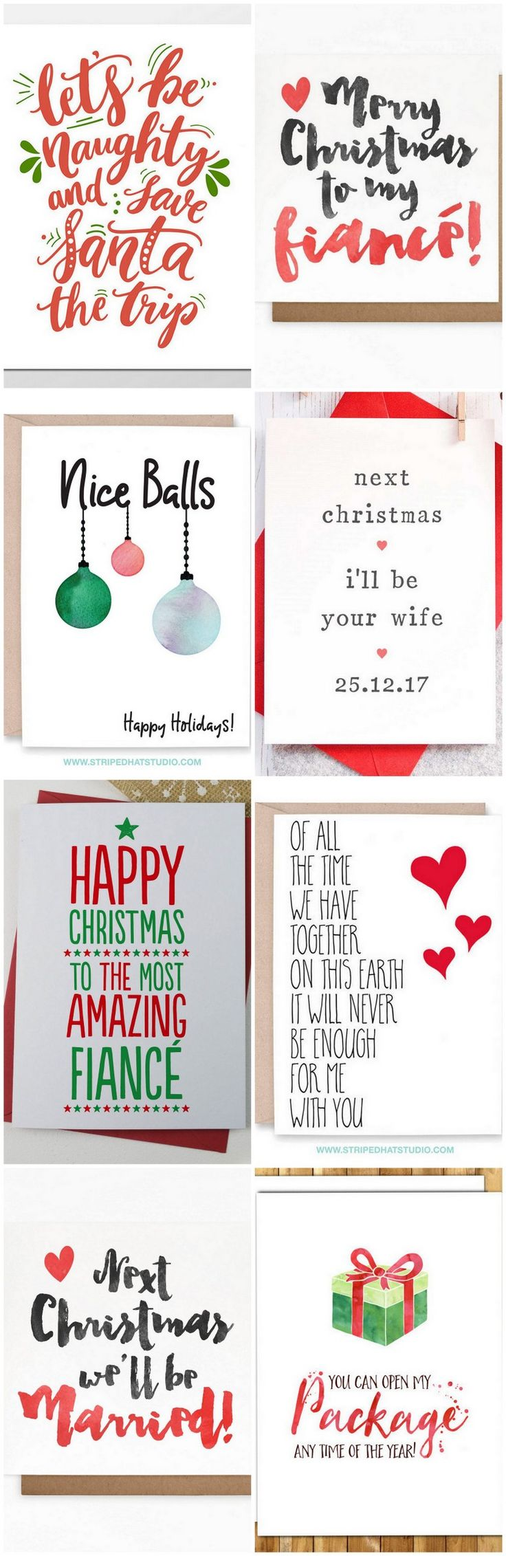 16 Adorable Fiance Christmas Cards for Your Bae! ,  Shannon Hafley
