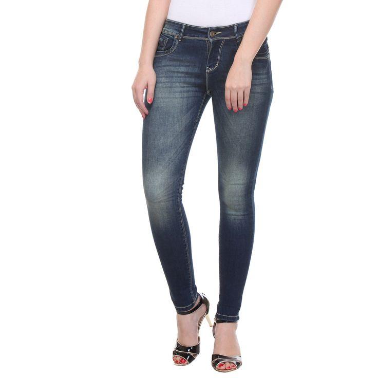 NEW Gorgeous Blue Denim Jean for $33
