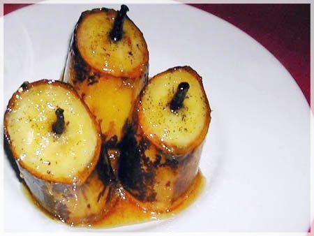 Banane à la vanille #banane #vanille #madagascar #bourbon