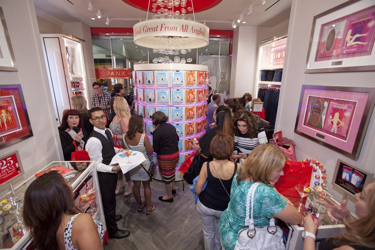 Sin City celebrated its first Spanx store with a Jiggle-Free Jubilee! #SpanxOpens #Vegas