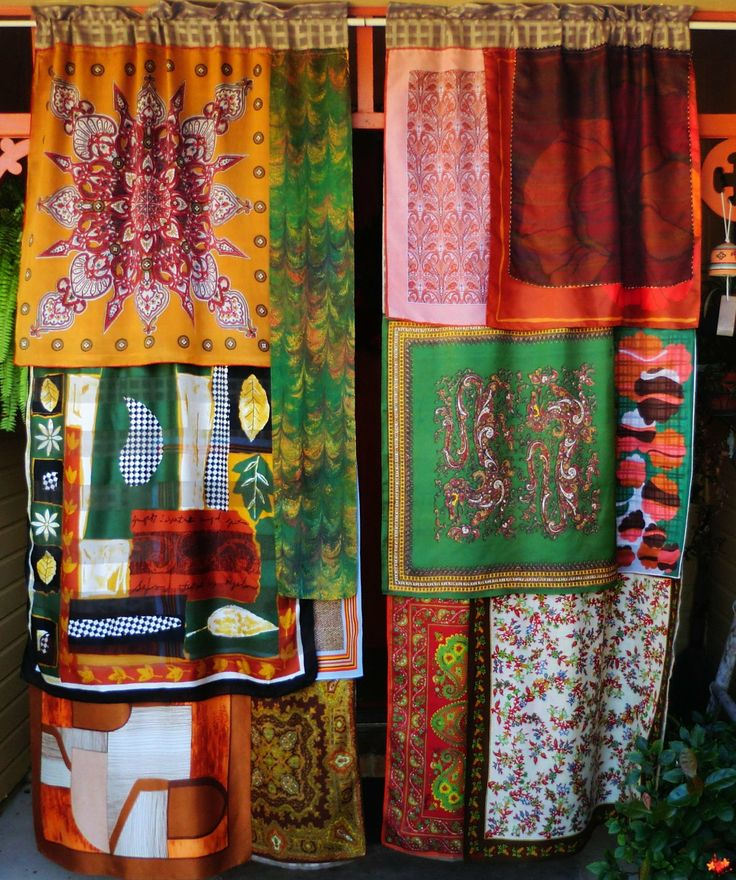 CELEBRATE ME HOME Handmade Gypsy Curtains By BabylonSisters, $225.00