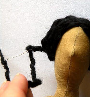 Mimin Dolls: Penteado para Tildas
