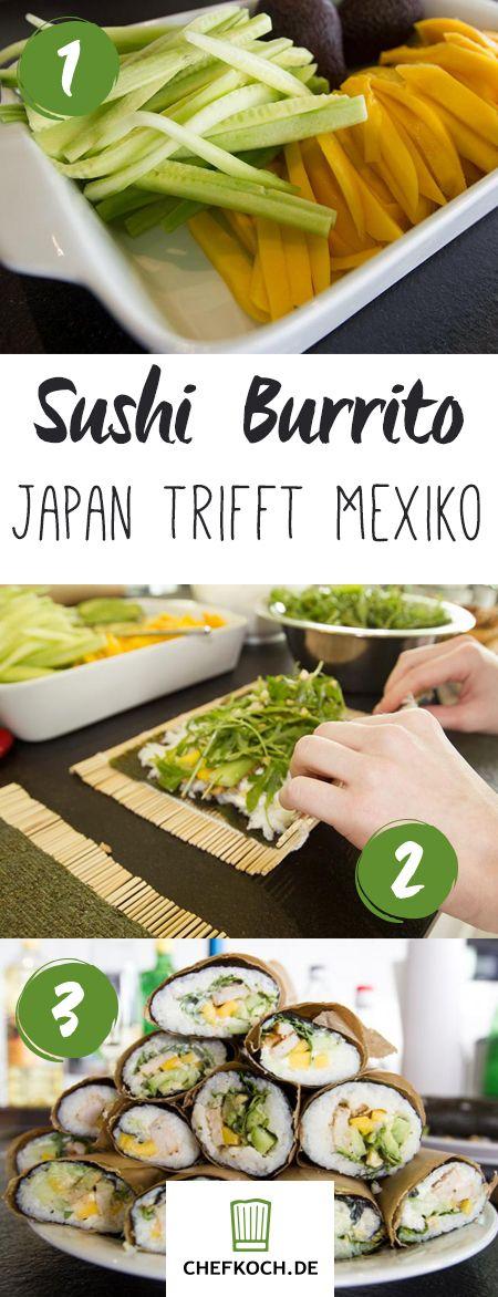 Sushi Burrito – Japan trifft Mexiko olè!