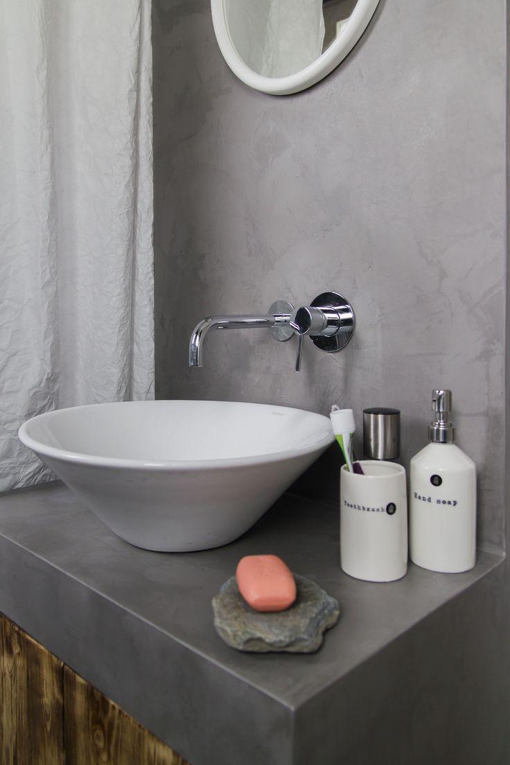 baño en microcemento http://espatulado.com/