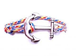 Anchor horgony karkötő színes