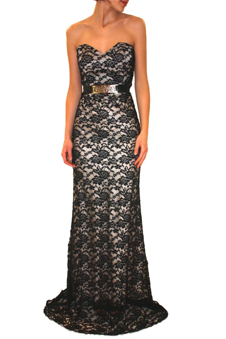 72 best Vestidos de noche images on Pinterest | Ball gowns, Gown ...