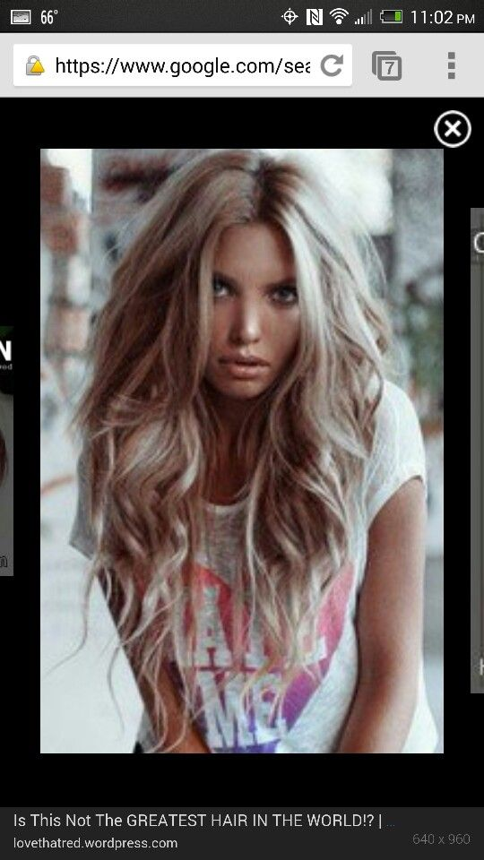 Ash Blonde pinkish red highlights | Health and Beauty | Pinterest