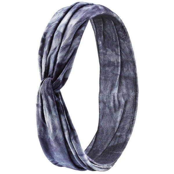 Charlotte Russe Blue Combo Twisted Tie-Dye Head Wrap by Charlotte... ($5.99) ❤ liked on Polyvore featuring accessories, hair accessories, blue combo, knotted headband, thick headbands, charlotte russe headbands, hair band headband and knotted headwrap