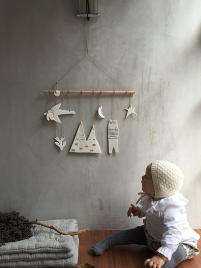 ceramic mobile by kats-creation.fr