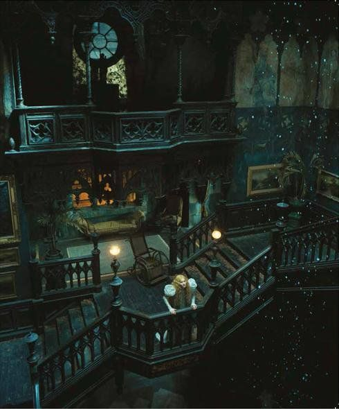 crimson peak house interior - Google Search