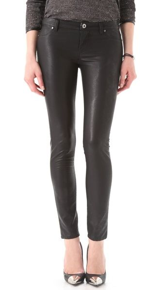 Blank Denim Vegan Leather Moto Skinny Pants    blank denim always fits me well, and not too pricey!