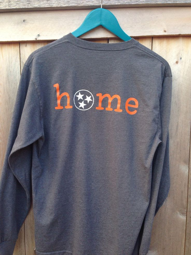 Tennessee Tristar HOME t-shirt by PennysPolkaDots on Etsy https://www.etsy.com/listing/214308887/tennessee-tristar-home-t-shirt