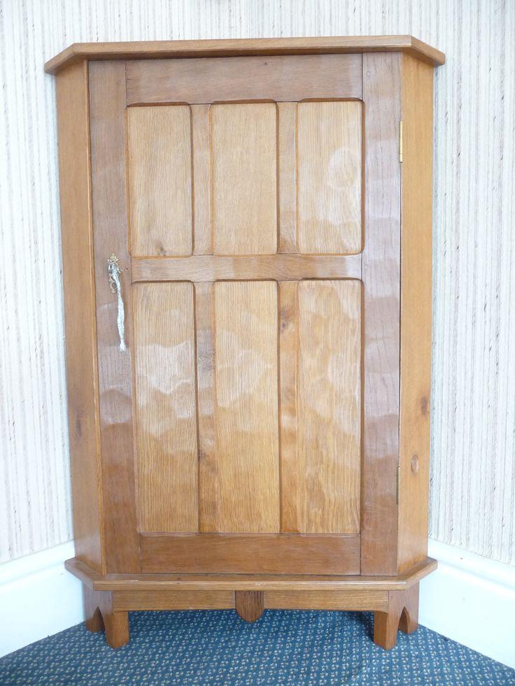 Tennants auctioneers an alan grainger acorn industries oak floor standing corner cupboard