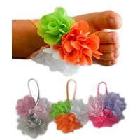 Baby Barefoot Sandal 3 Pack - Trip Flower Footsies