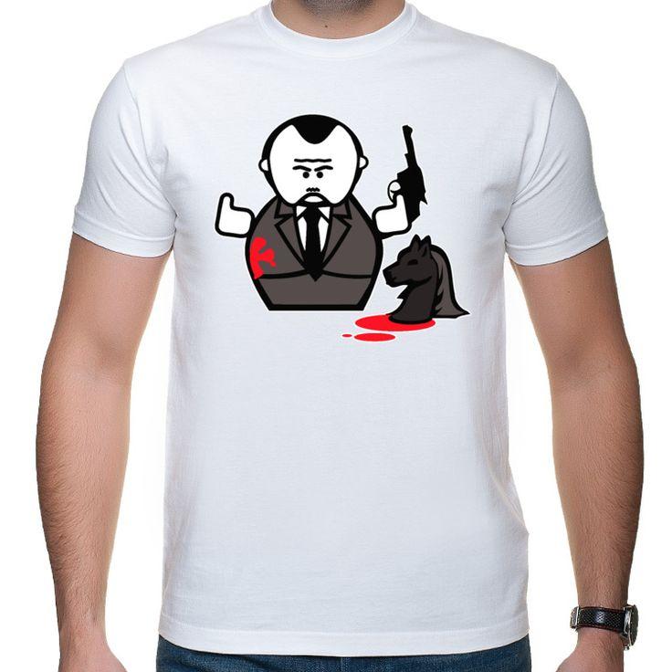 Ojciec Chrzestny rysunkowy koszulka