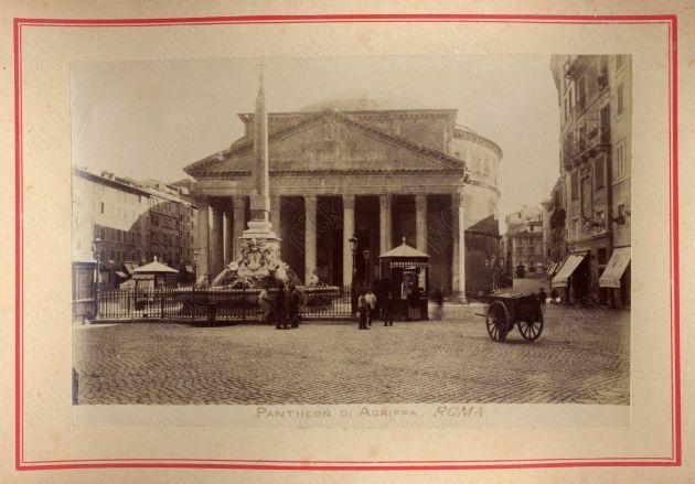 Roma. Pantheon di Agrippa [1890]