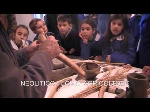 Gli oggetti dell'Uomo preistorico - attività didattica dell'Ecomuseo Lis Aganis - YouTube