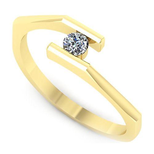 Inel logodna L66GDI Inel cu diamant