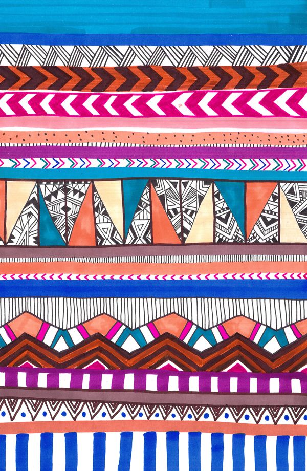TRIBAL - ABSTRACT (Hand drawn) PATTERNS on Behance
