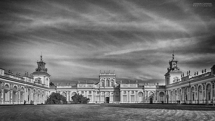 The Royal Palace in Wilanow