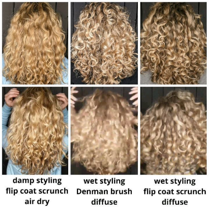 Pin On Curly Hair Method