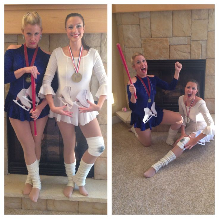 Halloween costume: Tonya Harding & Nancy Keerigan