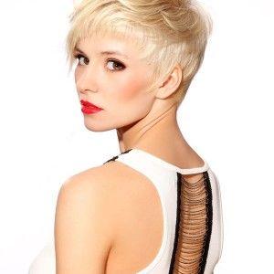 Blonde Stijlvolle Kapsels - Korte Kapsels