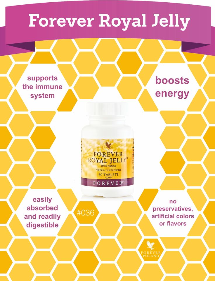 Royal Jelly is a substance derived from the pharyngeal glands of the honey bee. #foreverlivingproducts