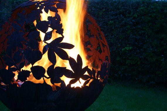 As seen on TV James Martin Home comforts episode 12  Fire Spheres by J.W & A.J Barrett Ltd. Craftsmen in Metal  Premium Bespoke Fire Spheres &