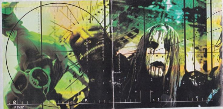 Slipknot Band STICKER Album Cover Art Decal Heavy Metal Music Iowa Face Masks