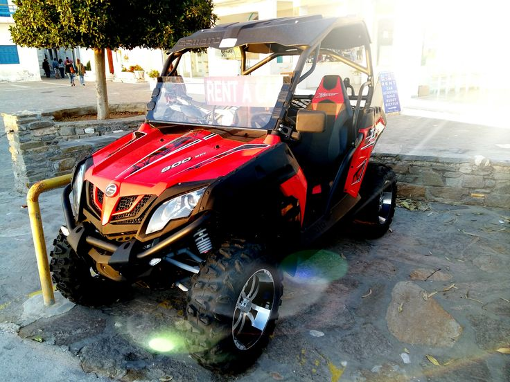Buggy Specifications: 800cc, automatic, 2 seats.