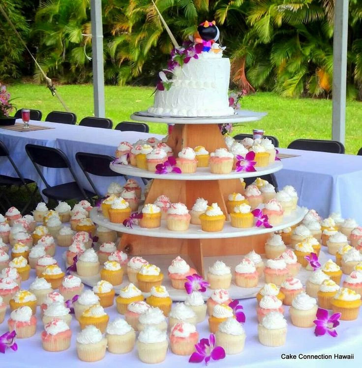 Cupcake tower for   Allegre & Ric