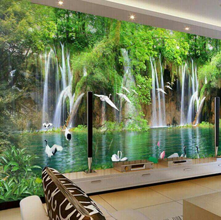1000 images about wall mural decoration fotomurales on pinterest photo walls murals and - 3d wandbilder wohnzimmer ...