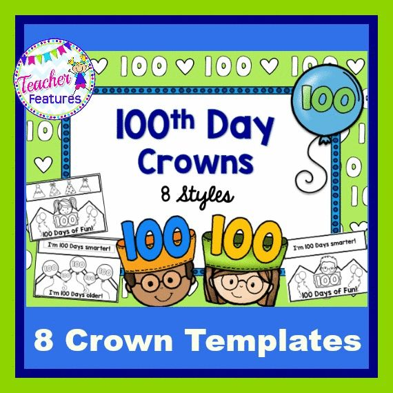 100th day of school crown template - 185 best 100th day fun images on pinterest learning