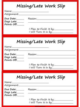 missing late work tracker with excuse slips dr seuss tribute