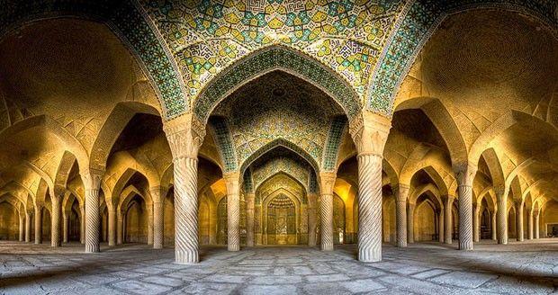 Fotos de mesquistas do Irã revelam a arquitetura islâmica do país (Foto: Mohammad Reza Domiri Ganji / Div)