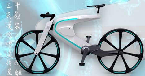 One Seriously Tight Light Bike » Yanko Design