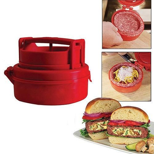 Stuffed Burger Press. Grill BBQ Patty Maker Juicy. As Seen On TV