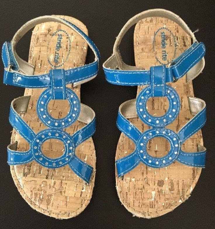 stride rite GIA sandals girls size 10M new worn once Sandals BLUE    eBay